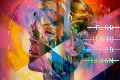 Das neue Album von PInk heißt HURTS 2B HUMAN. (c) pinkspage.com