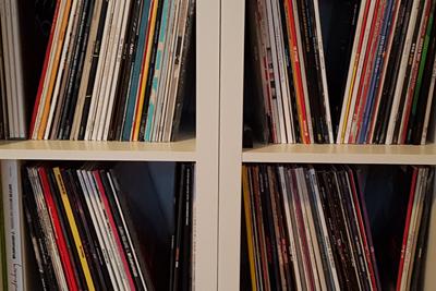 Schallplatten erfreuen sich großer Beliebtheit. (c) Der Vinylist