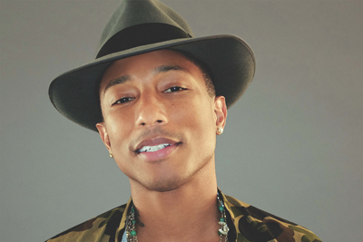 Pharrell Williams singt BLAST OFF von Gesaffelstein. (c) Sonymusic