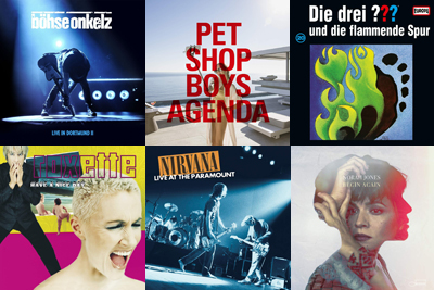 Neue Vinyls am 12. April 2019. (c) Der Vinylist