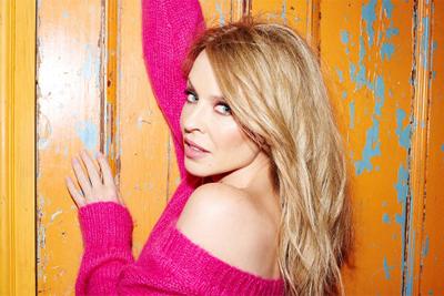 Kyie Minogue kündigt ihr Best Of STEP BACK IN TIME an .(c) Christian Vermaak