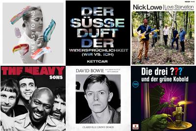 Neue Vinyls am 17. Mai 2019. (c) Der Vinylist