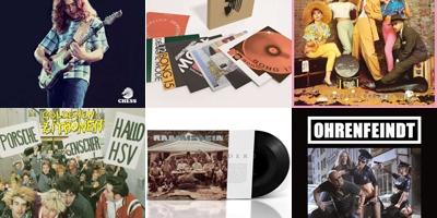 Neue Vinyls am 24. Mai 2019. (c) Der Vinylist