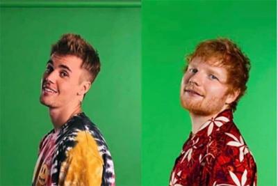 Justin Bieber und Ed Sheeran veröffentlichen I DONT CARE. (c) facebook@justinbieber