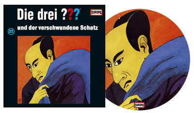 Die Drei Fragezeichen ??? Und der verschwundene Schatz als Picture Vinyl. (c) Der Vinylist