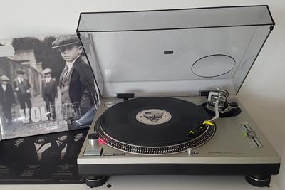 Das neue Volbeat-Album auf dem Plattenteller. (c) Der Vinylist