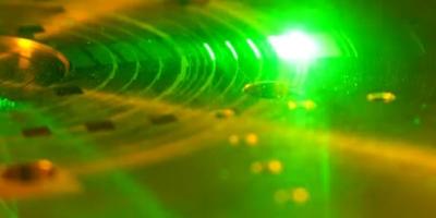 Der Laser spielt eine wichtige Rolle bei der Herstellung der HD-Vinyl. (c) Rebeat