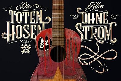 Die Toten Hosen veröffentlichen ALLES OHNE STROM. (c) Warner Music