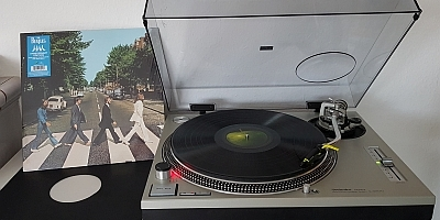Abbey Road von The Beatles im Review. (c) Der Vinylist