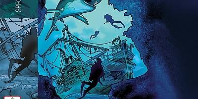 Die Drei Fragezeichen und das versunkene Schiff. (c) EUROPA