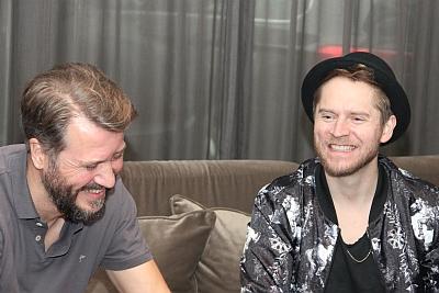 Johannes Oerding im Interview. (c) Der Vinylist