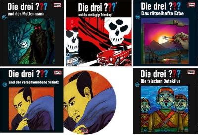 Die Drei Fragezeichen ??? Neuerscheinungen 2020. (c) Der Vinylist