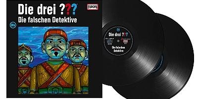 Die Drei Fragezeichen ??? Die falschen Detektive. (Montage) Der Vinylist
