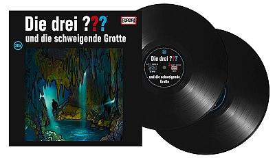 Die Drei Fragezeichen ??? und die schweigende Grotte. (Montage) Der Vinylist
