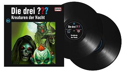 Die Drei Fragezeichen ??? Kreaturen der Nacht (Montage) Der Vinylist
