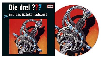 Die Drei Fragezeichen ??? und das Aztekenschwert. (Montage) Der Vinylist