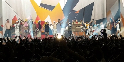 DEICHKIND am 15.2.2020 in der Festhalle Frankfurt. (c) Der Vinylist