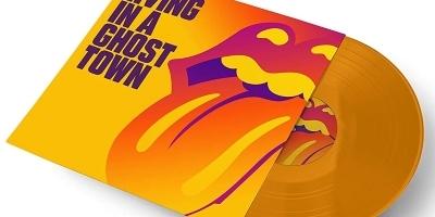 Living In A Ghost Town der ROLLING STONES erscheint auf orange Vinyl. (c) Polydor