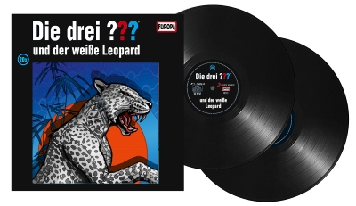 Die Drei Fragezeichen ??? und der weiße Leopard. (Montage) Der Vinylist