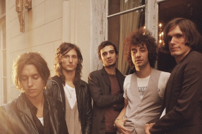 The STROKES machen neue Musik. (c) SonyMusic
