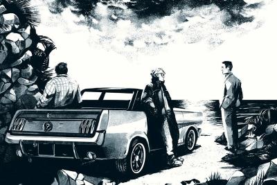 Wie wären Justus, Peter und Bob wohl als Erwachsene? (c) Kosmos