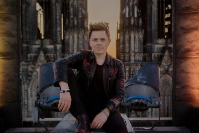 Michael Patrick Kelly singt im Kölner Dom. (c) Stefanie Ganschow