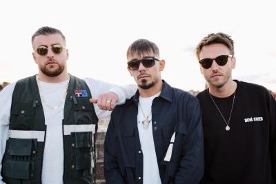 Capital Bra, Clueso und KC Rebell (c) Universal Music