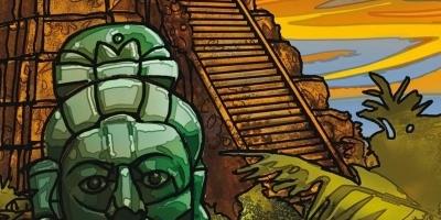 Die Drei Fragezeichen ??? und das Grab der Maya. (c) Sony Music