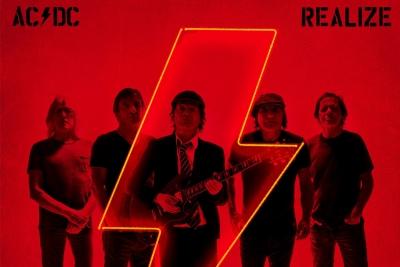 REALIZE heißt der neue Song von AC/DC. (c) twitter@acdc