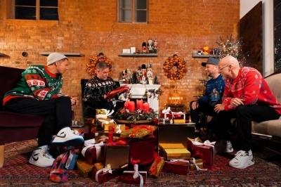 Fanta 4 Weihnachtsfeier. (c) MagentaMusik360