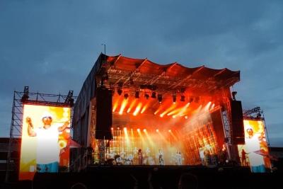 Jan DELAY in der Brita Arena in Wiesbaden. (c) Der Vinylist