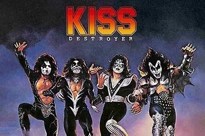 KISS feiern 45 Jahre DESTROYER. (c) Universal Music